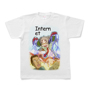ジャストディフェンス対インターネットシャツ