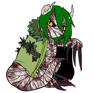 職員アブノマ化アクリルフィギュア シャーウッドの怪物