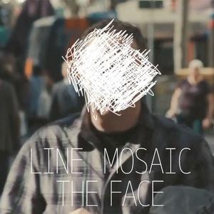 ラインモザイク 「THE FACE ~顔~」