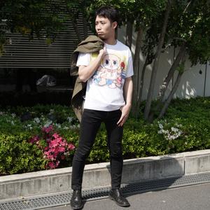 【BOOTH限定】ちぃたん☆Tシャツ(XLサイズ)