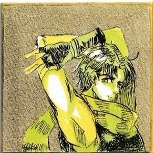 【ジョジョの奇妙な冒険】ジョセフミニ色紙