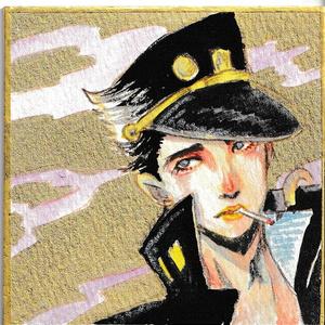【ジョジョの奇妙な冒険】空条承太郎ミニ色紙