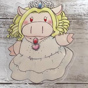 豚女神のアクリルキーホルダー