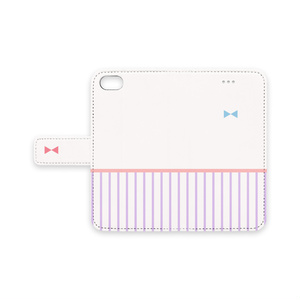 〈iPhone7, 6Plus, 6〉パチュリーっぽい手帳型ケース