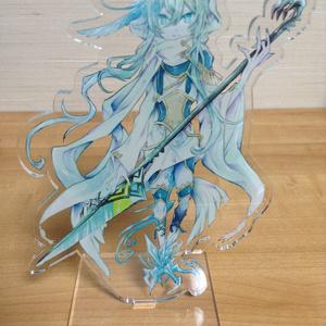 「結晶の剣サヤハ」アクリルフィギュア