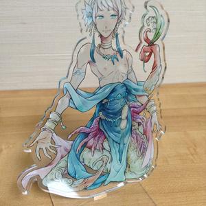 「涙の生贄の姫ウタカタ」アクリルフィギュア