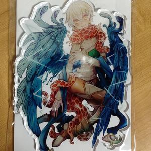「青い羽根の天使マユ」アクリルフィギュア