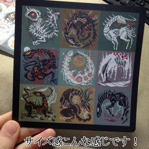 ポストカード(CDサイズ・A柄)
