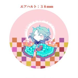 【メルスト】エアハルト缶バッヂ【しょっちょ】