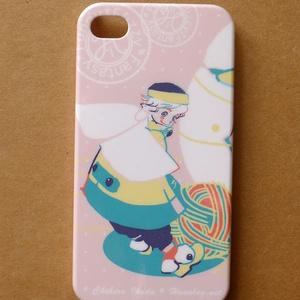 毛糸サッカー(iPhone4/4Sケース)
