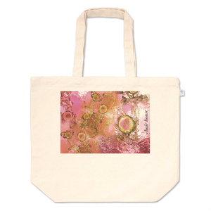 桜色の海の光 chair house トートバッグ
