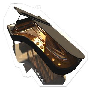 グランドピアノ chair house アクリルキーホルダー
