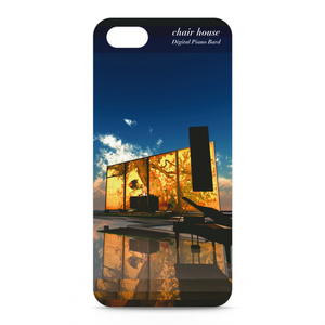 モノリスなピアノ chair house iPhone Cover