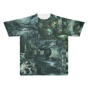 深海グラフィックシャツ