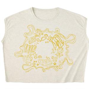 イ・デ・ン・シ変形Tシャツ