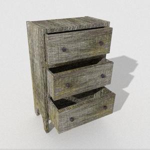 3Dモデル「枯木のチェスト」