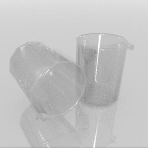 3Dモデル「実験器具3」