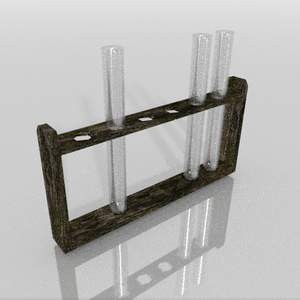3Dモデル「実験器具4」