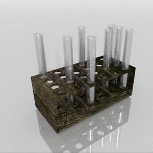 3Dモデル「実験器具5」