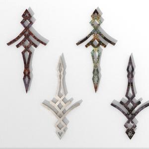 3Dモデル「紋章5」