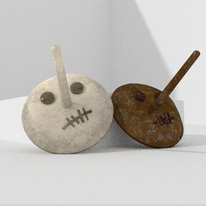 3Dモデル「長鼻のお面」