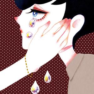 ポロポロ涙少年のポストカード(単品)