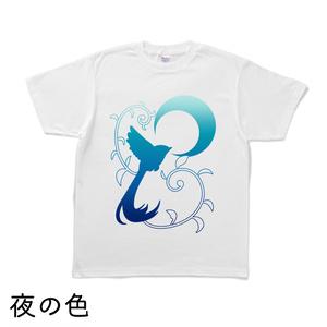 月草鳥Tシャツ(9種類・白生地)8/20に値下がります