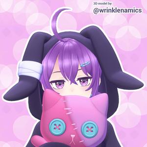 Bunny Pajama Ridie - VRC Ready ✩