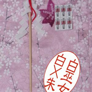 ◆お祓い棒 & 護符セット◆1/12サイズ布服オプション◆