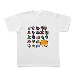 Tシャツ「GUN SPIRITS」 / アマグモダン(ザコ)