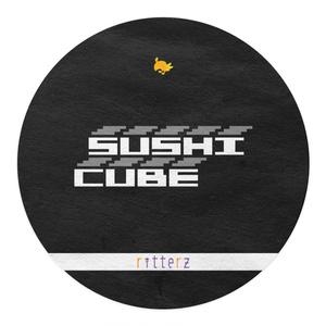 SUSHI CUBE [type01] マグロ&玉子(マグロ、中トロ、大トロ、玉子)