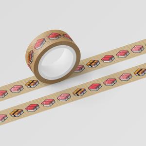 マスキングテープ「SUSHI CUBE [type 01] / マグロ&玉子」