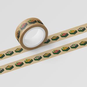 マスキングテープ「SUSHI CUBE [type02] / 軍艦4種」
