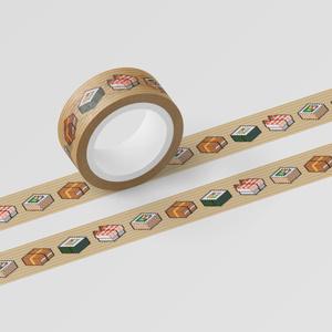 マスキングテープ「SUSHI CUBE[type05] / 助六4種」