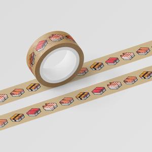 マスキングテープ「SUSHI CUBE[typeSP] / 人気4種」
