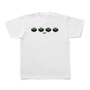 Tシャツ「SUSHI CUBE [type03] / 細巻4種」