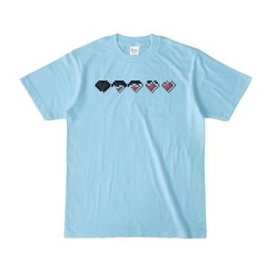 淡色Tシャツ「ライフゲージパターン(GUN SPIRITS)」