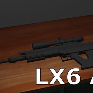 fbxモデル LX6 AM