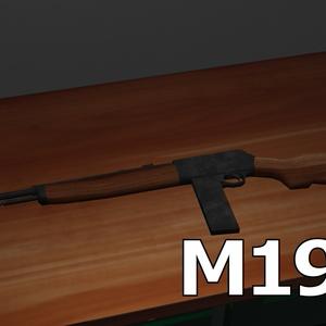 fbxモデル M1907