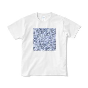 《備えあれば》Tシャツ ブルー(短納期)