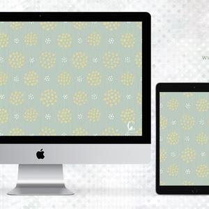 壁紙 dot flower