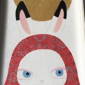 日本画原画 -月-