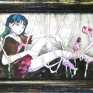 水彩原画〈Cinderella〉