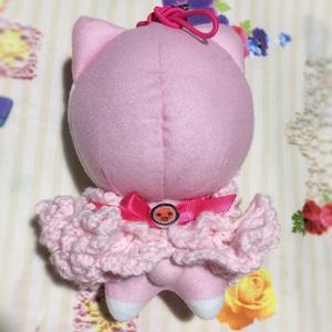 ドンぬい用フリルドレス ピンク