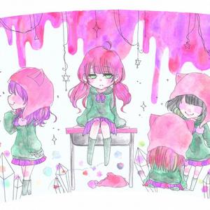 ねこかぶりタンブラー(ピンク)