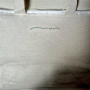 無気力ミニトートバッグ