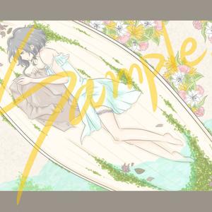 写真風イラストカード2枚セット