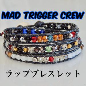 MAD TRIGGER CREW イメージブレスレット モチーフラップブレスレット