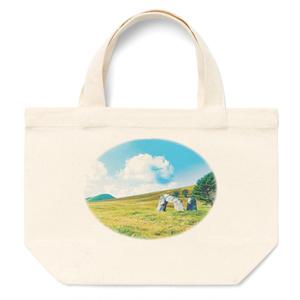 トートバッグ—丘と石碑1
