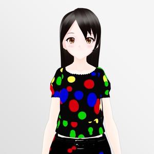 """オリジナル3Dモデル """"Yuki"""""""
